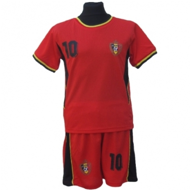 Belgium. Futbolo apranga vaikams nuo 2-14 metų.