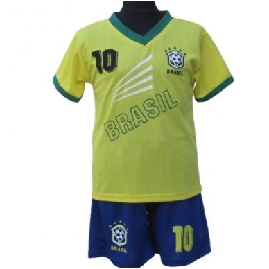 Brasil. Futbolo apranga vaikams nuo 2-14 metų.
