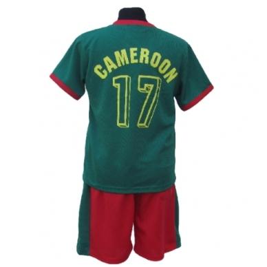 Cameroon. Futbolo apranga vaikams nuo 2-14 metų. 2