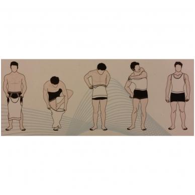 Figūrą formuojantys vyriški marškinėliai 4