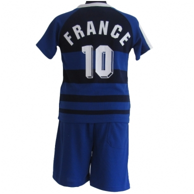 France. Futbolo apranga vaikams nuo 2-14 metų. 2
