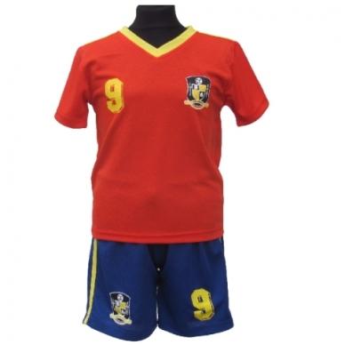 Ispanija. Futbolo apranga vaikams nuo 2-14 metų.