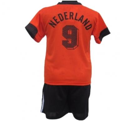 Olandija. Futbolo apranga vaikams nuo 2-14 metų. 2