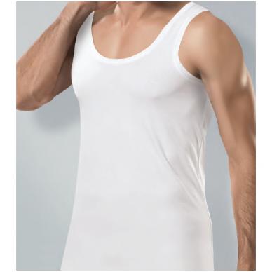 Marškinėliai be rankovių su elastanu