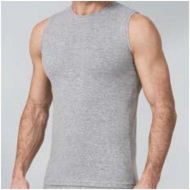 Marškinėliai iš medvilnės su elastanu 3