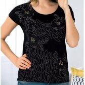 Marškinėliai JUODOJI PASIFLORA 23733