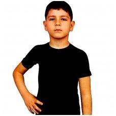 Vienspalviai vaikiški marškinėliai trumpomis rankovėmis