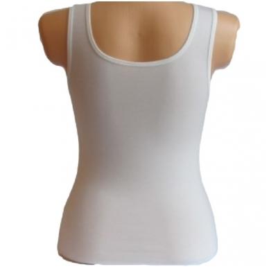Vienspalvės moteriškos palaidinės be rankovių S/M 10