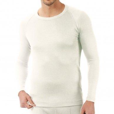Vyriški šilti termo apatiniai marškinėliai 3