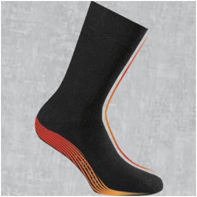 Vyriškos termo kojinės pašiltintu padu.